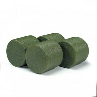 Ertl 1/16 scale Round Bales set of 4 green plastic bales ZFN13189