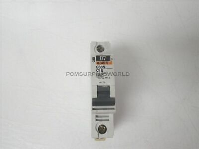 C60N C16 Mutli 9 Merlin Gerin Circuit Breaker 1 Pole 230/400V (Used and Tested)