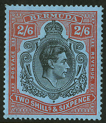 Bermuda  1938-51  Scott # 124a  Mint Hinged