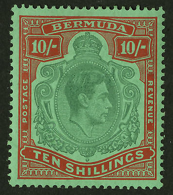 Bermuda  1938-51  Scott # 126a  Mint Very Lightly Hinged