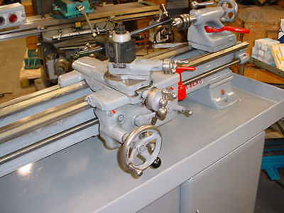 """1970 Heavy """"10"""" South Bend Lathe With Digital Readout And Tooling Look At Video"""