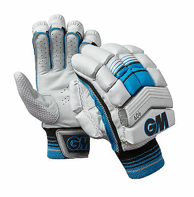 Gunn & Moore GM Cricket 606 Mens Comfort HD Foam Padded Leather Batting Gloves