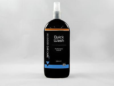 Automotive Dry Shampoo Quick Wash  by Allgood Car Care Professional Range 500ml