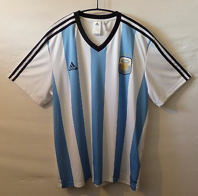 "ARGENTINA 2014 football shirt UK XL US XL 50""  127 cm Chest"