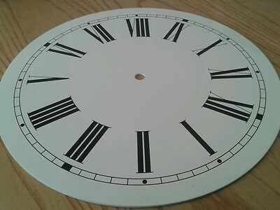 Clock Dial 203mm Roman Alum