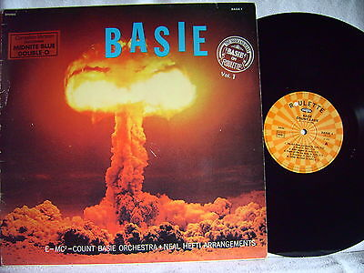 Count Basie And His Orchestra + Neal Hefti ‎  Basie  F Vinyl  RI of  1958 LP