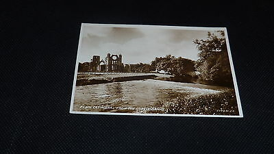 Vintage Postcard, Elgin Cathedral, Moray Scotland - Valentine's Real Photo
