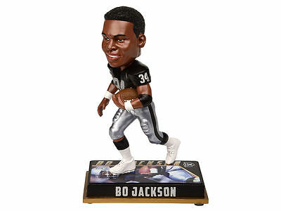 Oakland Raiders Bo Jackson 34 Player Bobble Head forever Collectibles