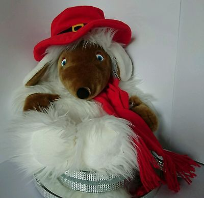 """Boots Brand Plush Orinoco Womble Hot Water Bottle Cover Or Pyjama Case - 24"""""""