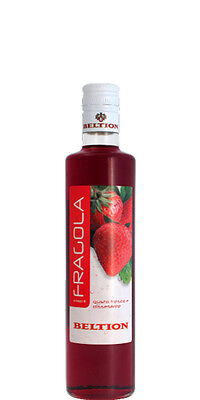 SCIROPPO GUSTO FRAGOLA PER DOLCI DRINK E COCKTAIL BELTION 50cl