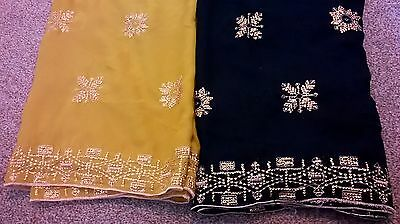 Children's Bollywood designer sarees with matching blouse for 6-10 year old girl