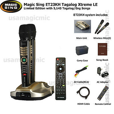 2017 Magic Sing ET23KH Tagalog Xtreme Limited Edition w/ 5145 Tag/Eng songs