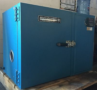 "ENVIROTRONICS  ST1.2 TEMPERATURE ENVIRONMENTAL TEST CHAMBER 16"" x 11""x 12"""