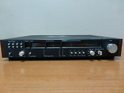Vintage Tandberg 3001A Programmable Tuner with side panels and power cord