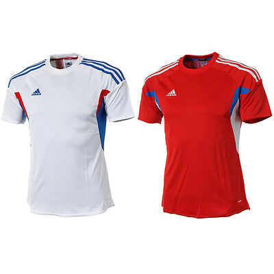 Adidas Youth Junior Parso 13 Jersey Soccer Football Training Top Shirts S/S