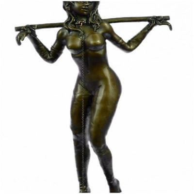 Hot Cast Erotic Art Sexual Bronze Sculpture German Artist Preiss Figurine  A