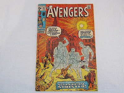 The Avengers issue 85 1970 first appearance of Squadron Supreme