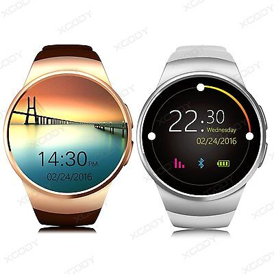 Bluetooth Smart Watch Orologio Intellige SIM GSM Per iPhone Android Samsung iOS
