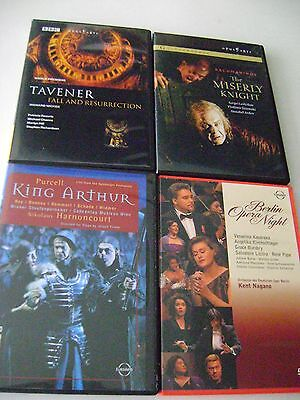 Lot of 5 Rare Classical DVD's