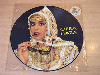 "Ofra Haza/Im Nin'Alu/1988 WEA Picture Disc 12"" Single"
