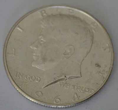 1964 Kennedy half dollar 90 % pure silver coin