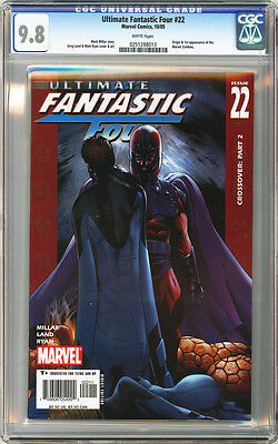 Ultimate Fantastic Four #22 CGC 9.8 Origin and 1st Mavel Zombies (2005)
