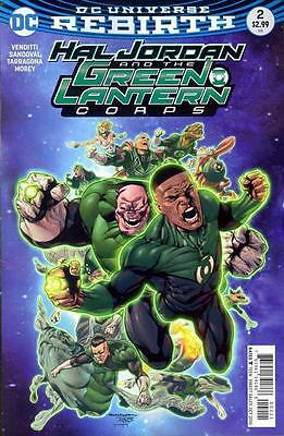 Hal Jordan And The Green Lantern Corps #2 2016 DC Comics Rebirth