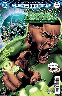 Hal Jordan And The Green Lantern Corps #5 2016 DC Comics Rebirth