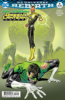 Hal Jordan And The Green Lantern Corps #6 Variant 2016 DC Comics Rebirth