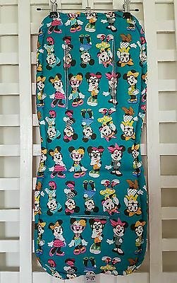 Minnie Mouse Jade Universal Pram Liner & Strap Covers fit Bugaboo Handmade NEW