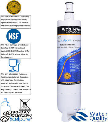 ExcelPure Comparable Whirlpool 4396508P, 4396508 Refrigerator Water Filters