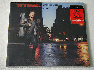 Sting 57th & 9th Mexican Deluxe Edition CD