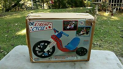 Vintage Extreme Cycle Big Wheel Riding Toy GF Extreme Cycle!  *SUPER NICE*