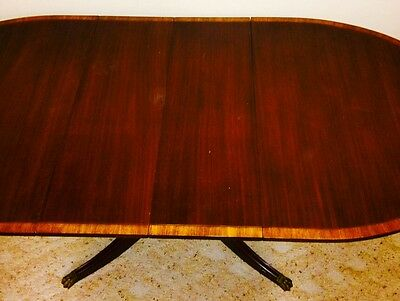 New Travis Court collection mahogany leaf table