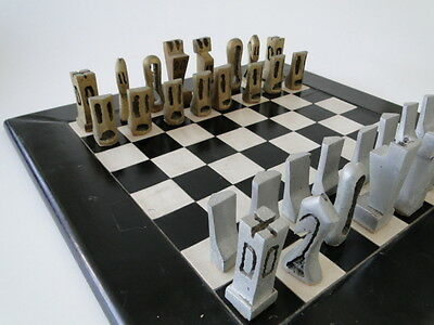 Chess, Échecs, Ajedrez, Unique and singular, signed