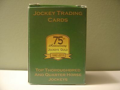1940-2015 Jockey Horse Racing Guild Trading Cards 75Th Anniversary