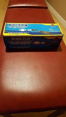 Coralife Pure-Flo II Float and Automatic Shutoff Valve Kit - NEW