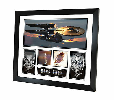 Star Trek 2009 Signed Photo movie memorabilia Limited Edition Framed
