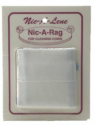 Nic-A-Rag, 80 sq. in Cleaning Cloth for Coins or Jewelry