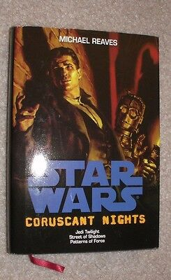 Coruscant Nights: Jedi Twilight, Street of Shadows, Patterns of Force (2011) HC