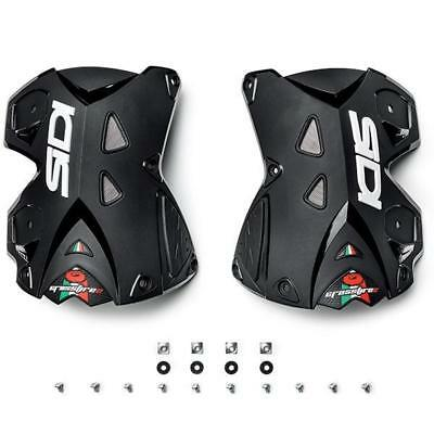 Sidi NEW MX Crossfire 2 Boots Replacement Black Rear Upper Boot Covers Pair