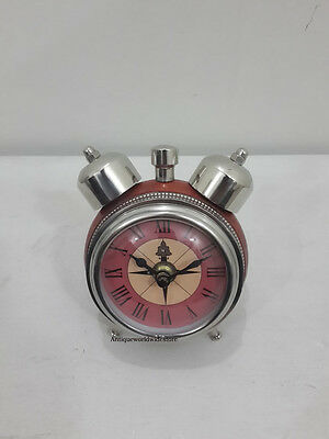Authentic Style Table Top Desk Clock Collectible Watch Home Decorative