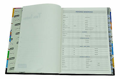 Neelgagan Printed Cover Ruled Telephone / Address Records Notebook 232 Pages