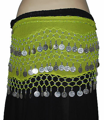 Pack of 12 colors Buy Belly Dancing Hip Scarf