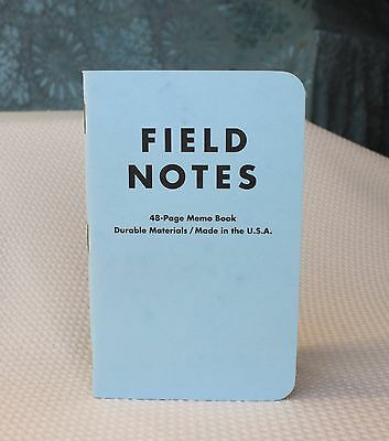 Field Notes Butcher Extra Blue Edition (Spring 2009) Notebook