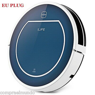 ILIFE V7 Bluetooth Smart Robotic Vacuum Cleaner Floor Sweeper DHL free Shipping