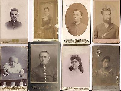 JUDAICA RUSSIA 24 OLD PHOTOS FROM JEWISH FAMILY ALBUM EARLY 1900s - RARE