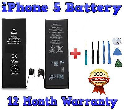 NEW INTERNAL REPLACEMENT BATTERY FOR Apple IPHONE 5 GENUINE 1440mAh CAPACITY
