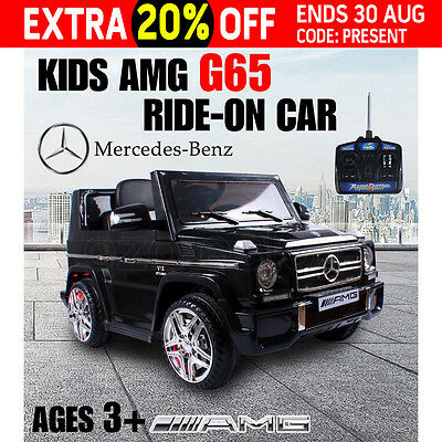 Kids Electric AMG G65 Ride-on Car Licensed Mercedes-Benz Children Remote 12v AU