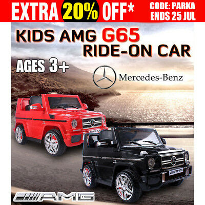 Kids AMG G65 Ride-on Car Licensed Mercedes-Benz Children Remote 12v Electric